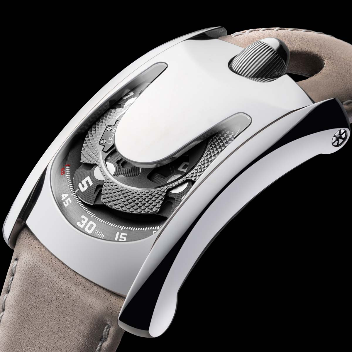 The Watch Quote: Photo - Arpal One by Laurent Ferrier and Urwerk for Only Watch 2017