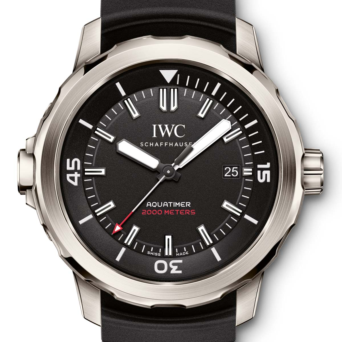 La Cote des Montres : Photo - IWC Aquatimer Automatic 2000 Edition « 35 Years Ocean 2000 »