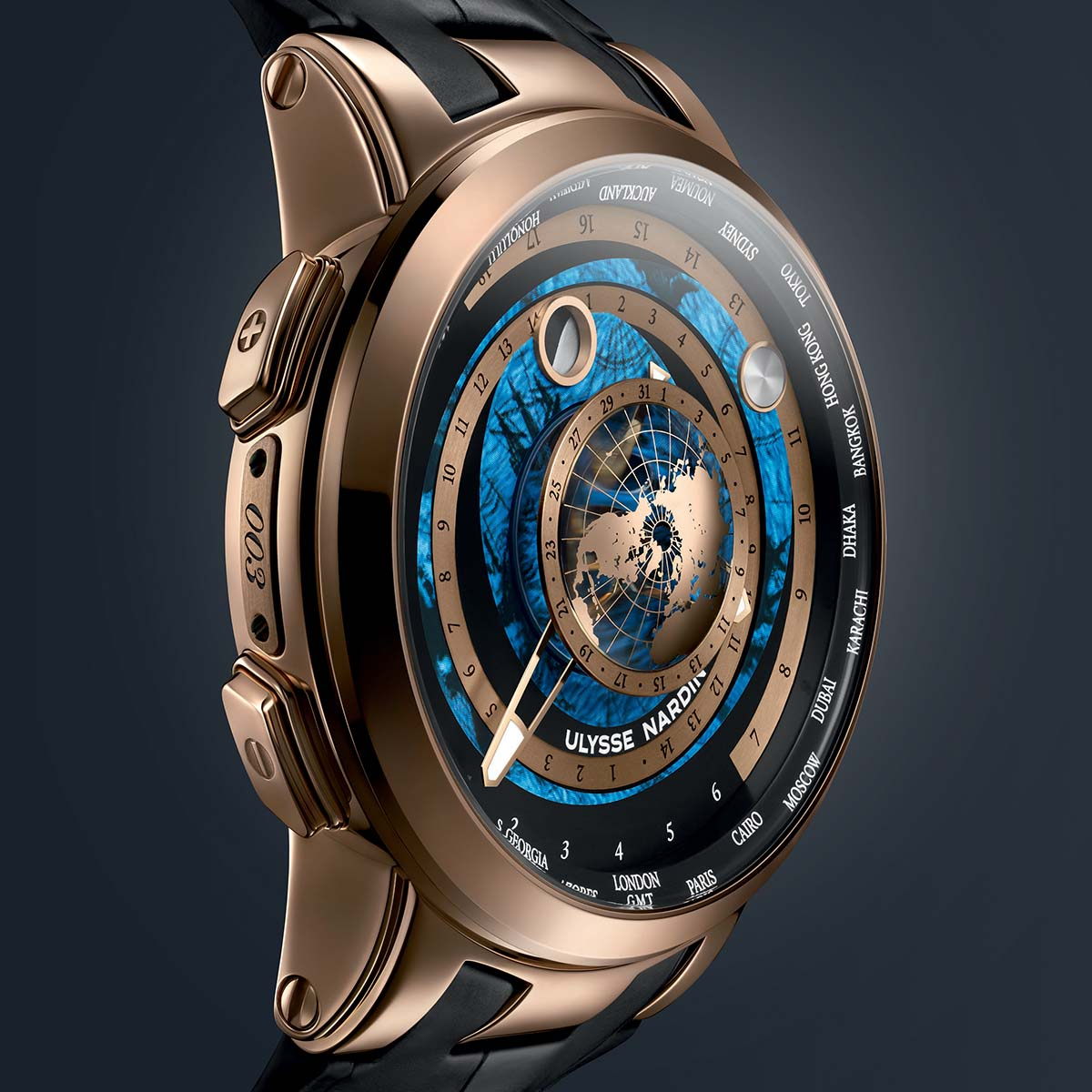 The Watch Quote: Photo - Ulysse Nardin Executive Moonstruck Worldtimer