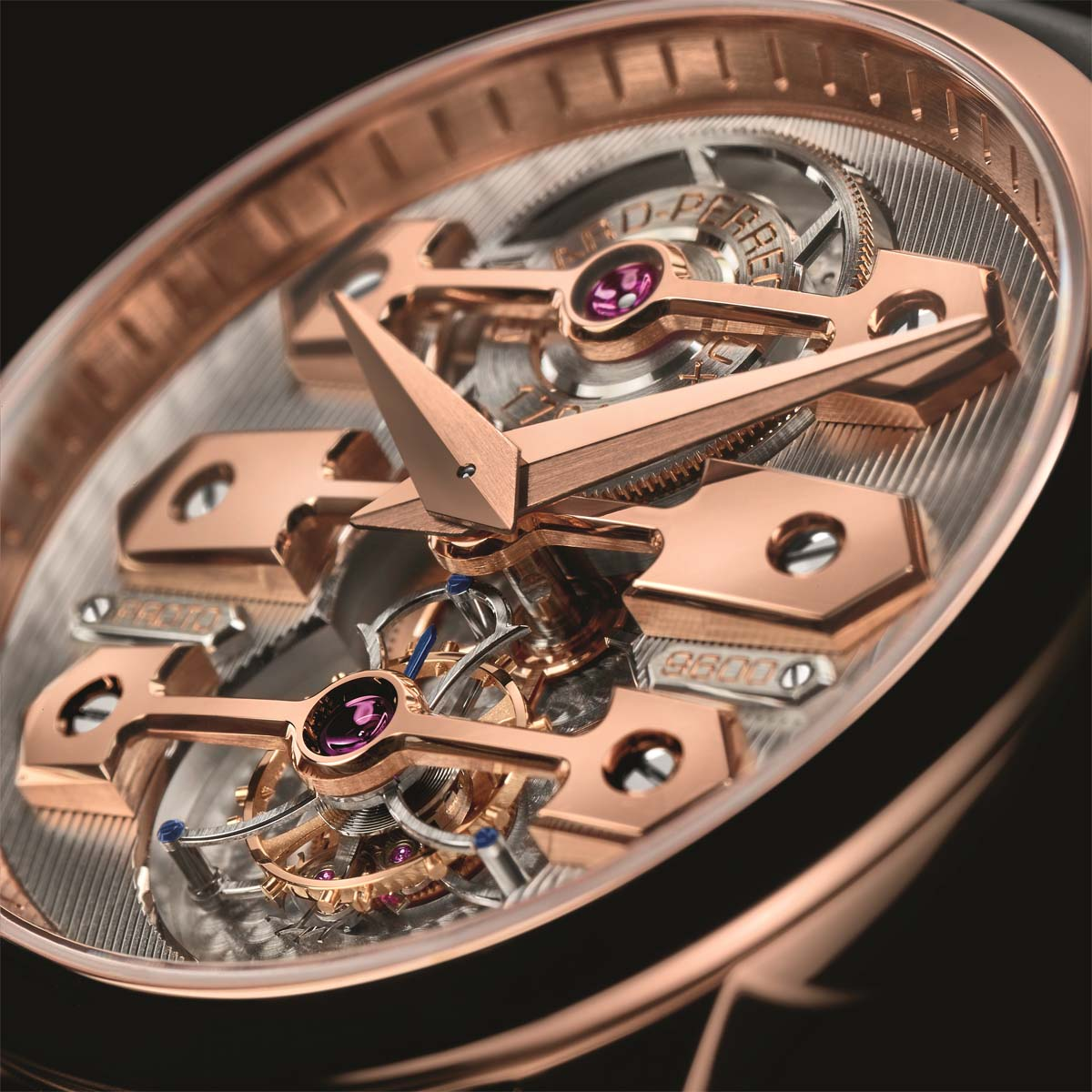 The Watch Quote: Photo - Girard-Perregaux Tourbillon with Three Bridges