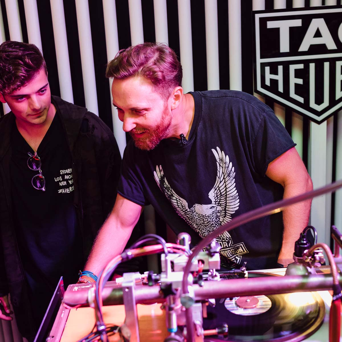 The Watch Quote: Photo - David Guetta welcomes TAG Heuer to Ibiza to celebrate the end of summer 2017