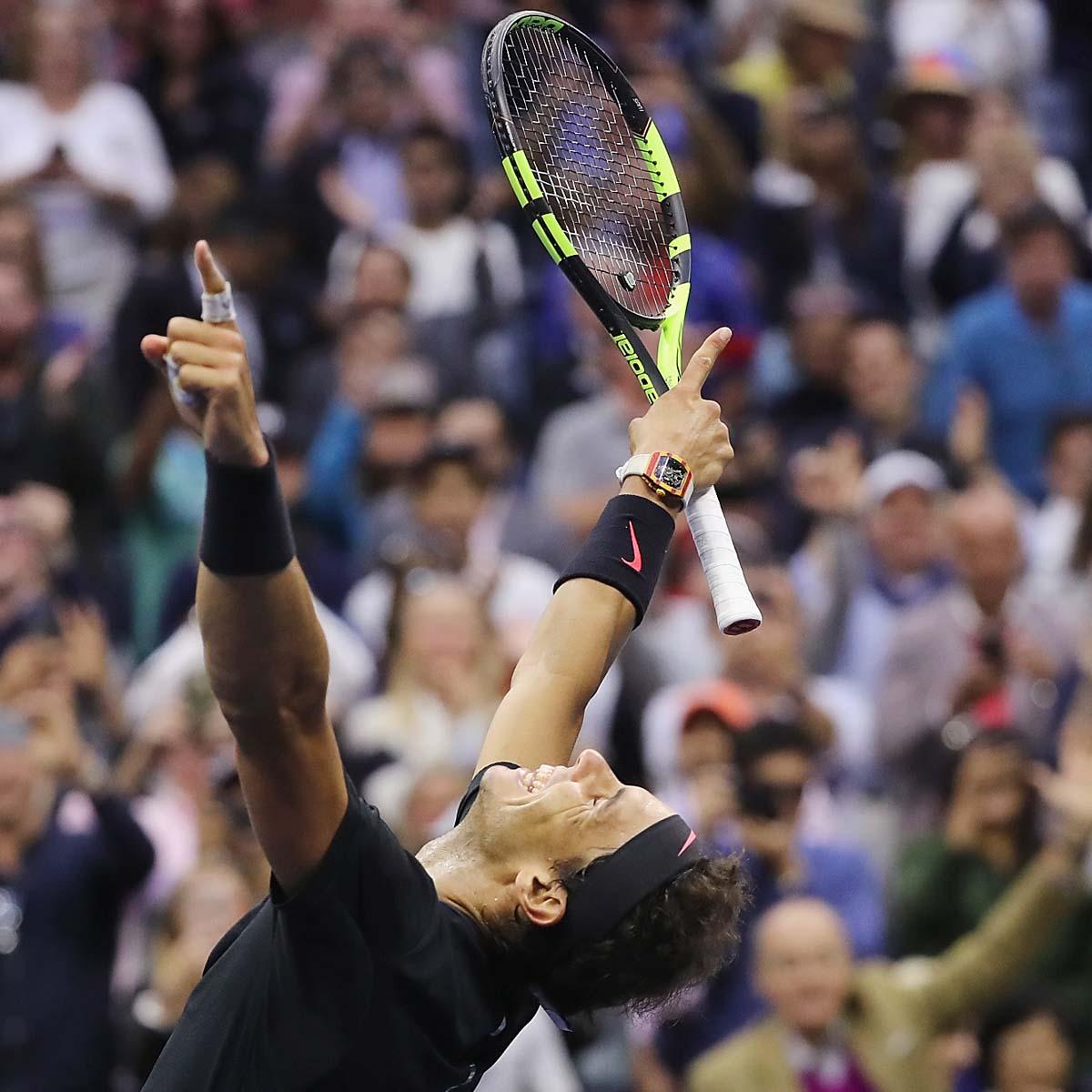 La Cote des Montres : Photo - US Open : et de 3 pour Rafa !
