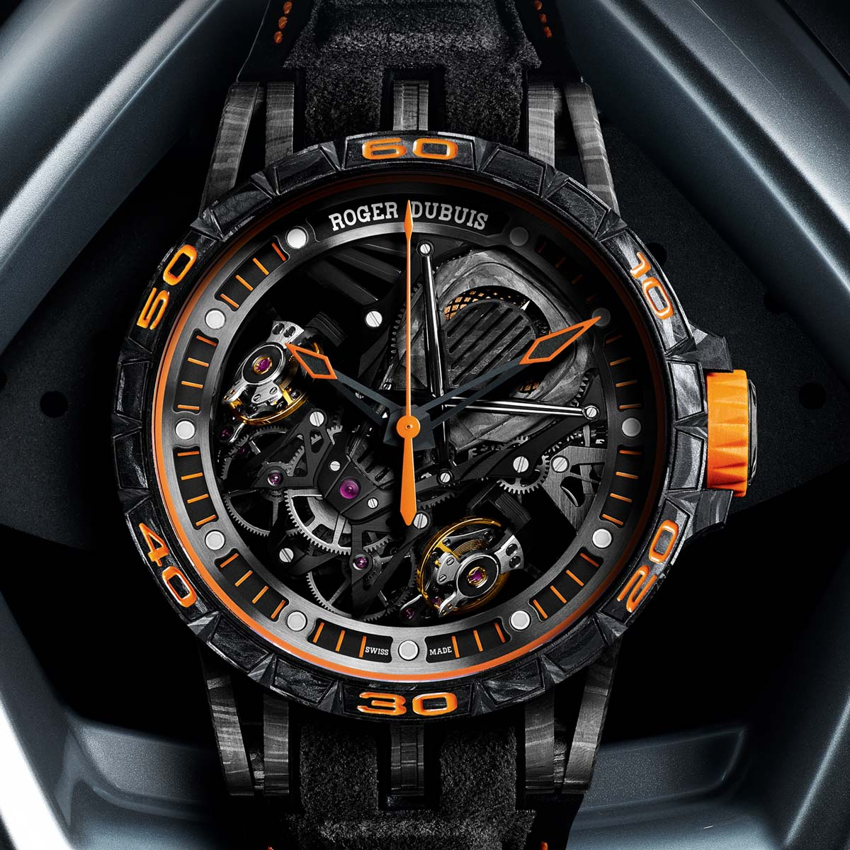 The Watch Quote: Photo - Roger Dubuis Excalibur Aventador S