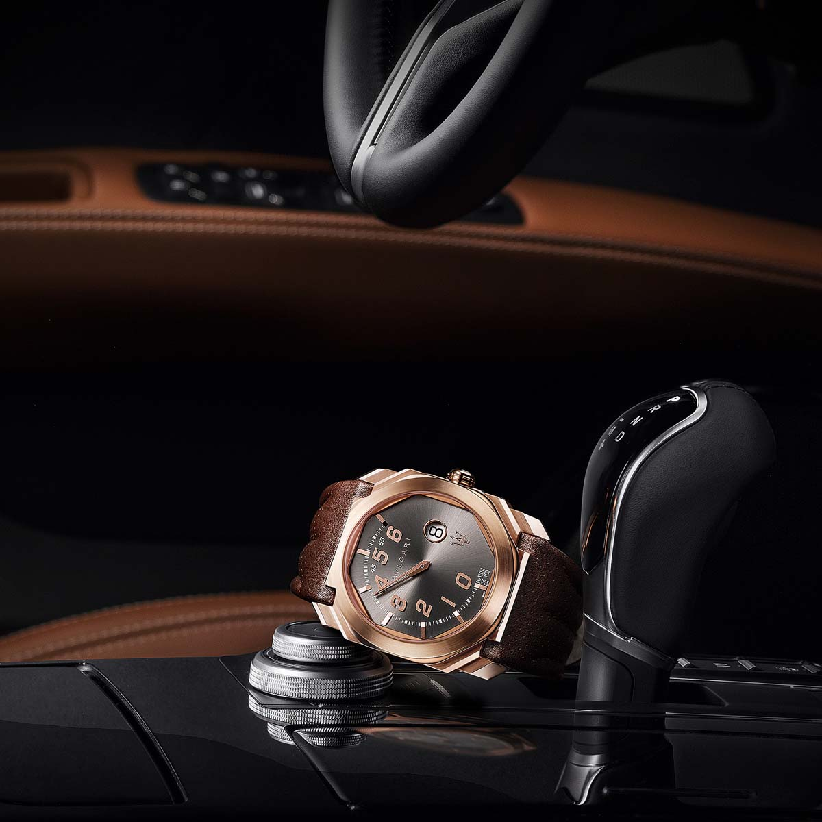 The Watch Quote: Photo - Bulgari Octo Retro Maserati