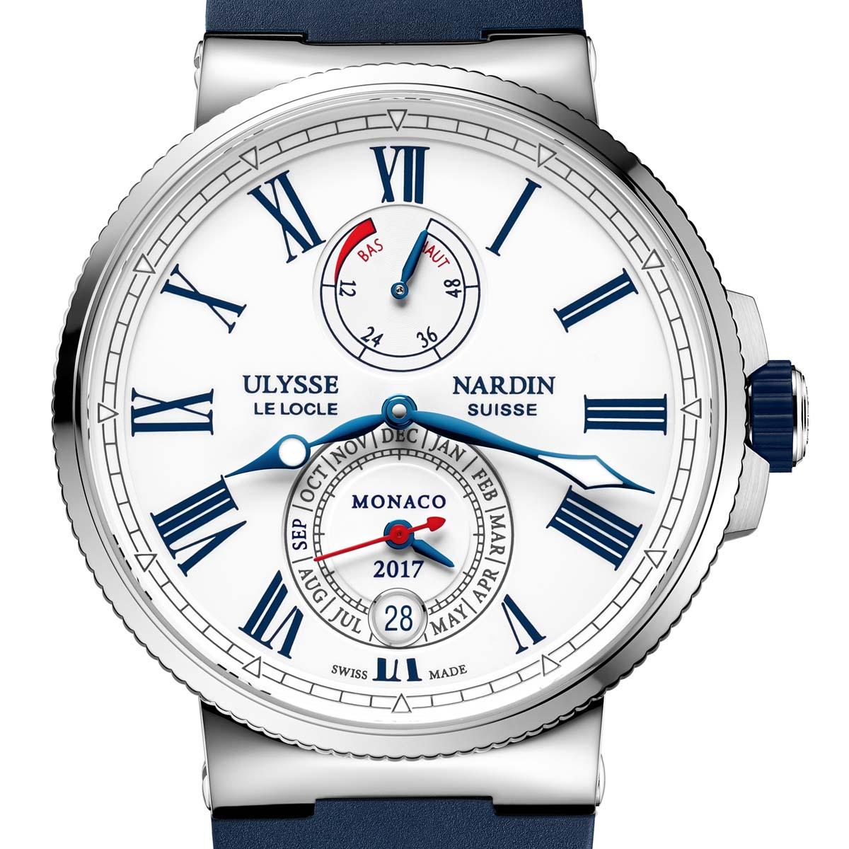 La Cote des Montres : Photo - Ulysse Nardin Marine Chronometer Annual Calendar Monaco