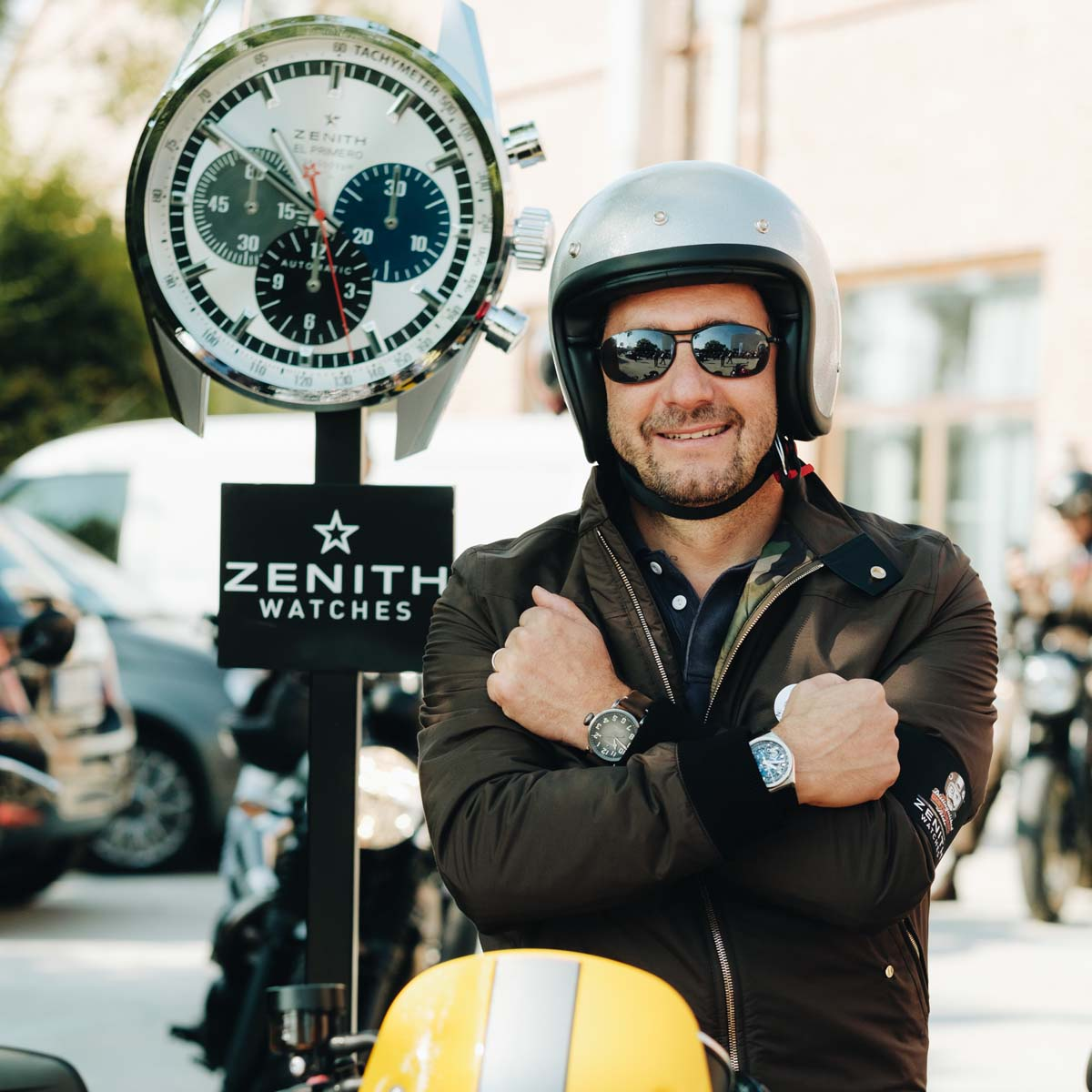 The Watch Quote: Photo - Zenith - The Distinguished Gentleman's ride