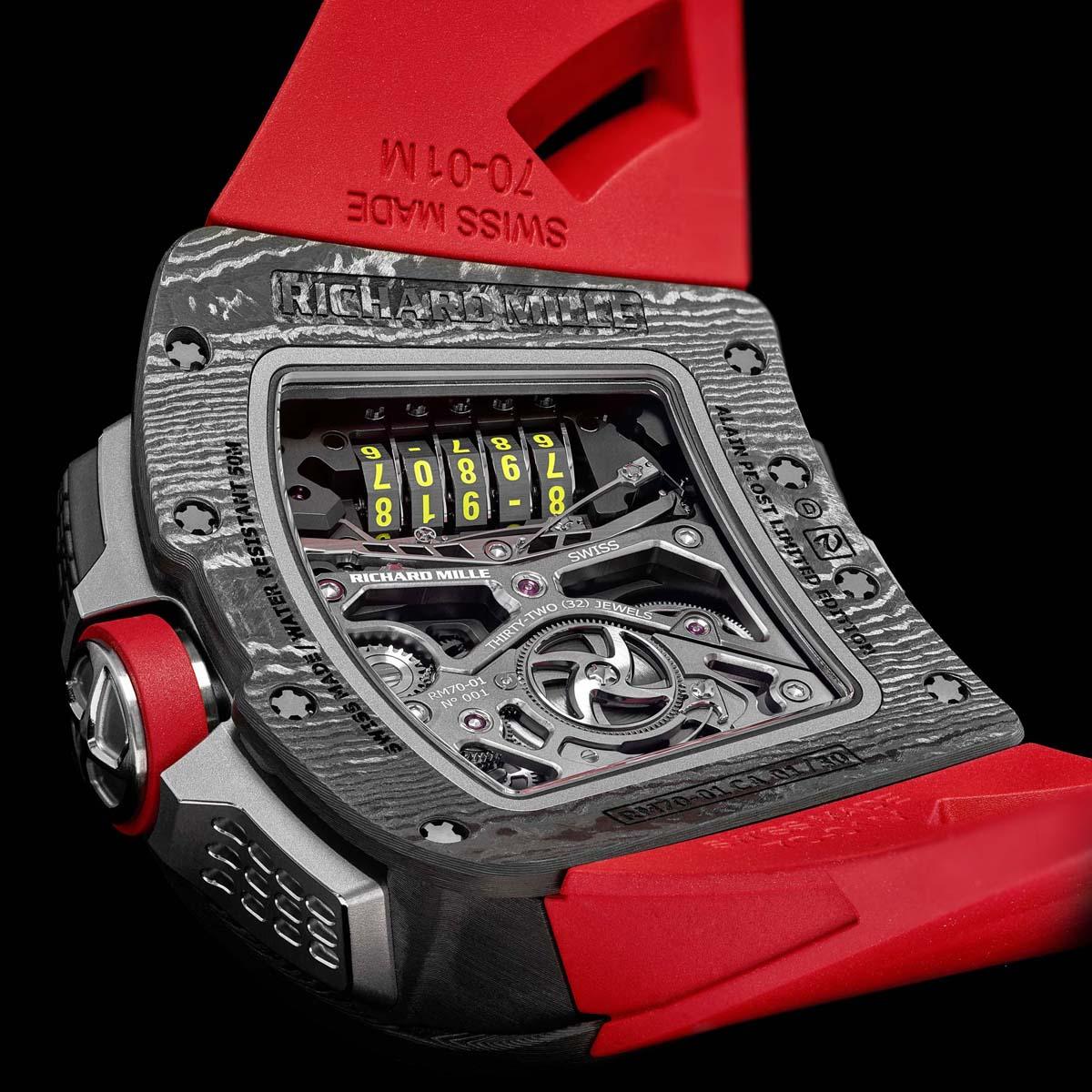 La Cote des Montres : Photo - Richard Mille RM 70-01 Tourbillon Alain Prost
