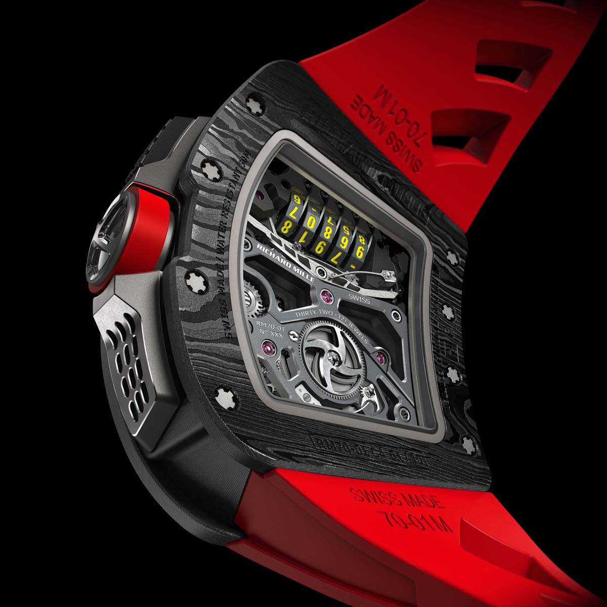 La Cote des Montres : Photo - Richard Mille RM 70-01 Tourbillon Alain Prost