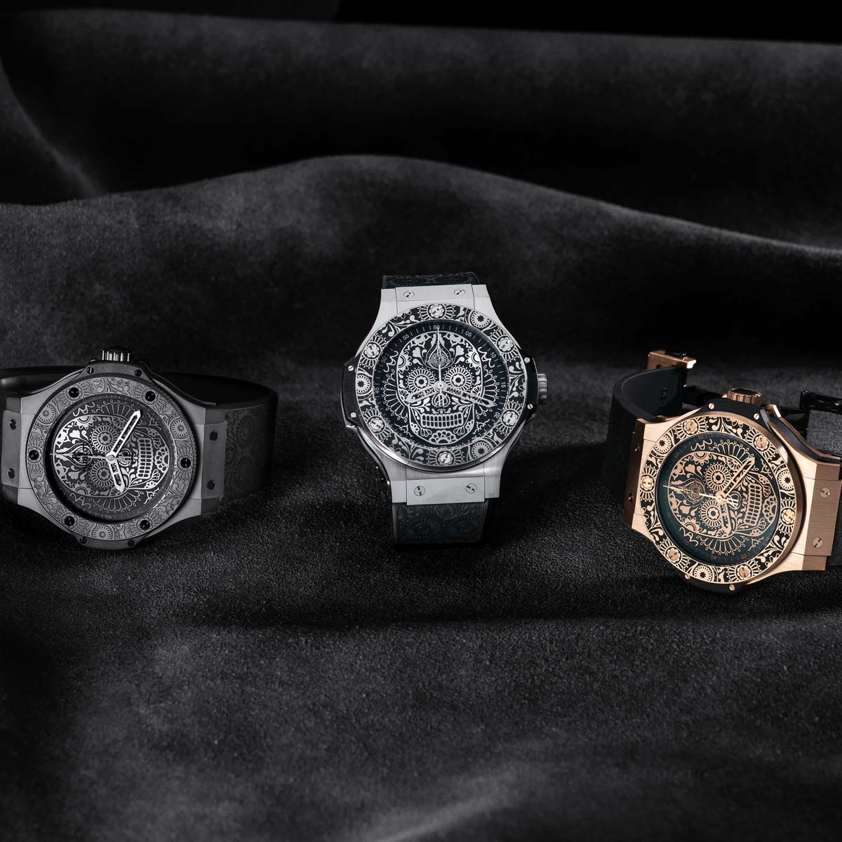 La Cote des Montres : Photo - Hublot Big Bang « Calaveras »
