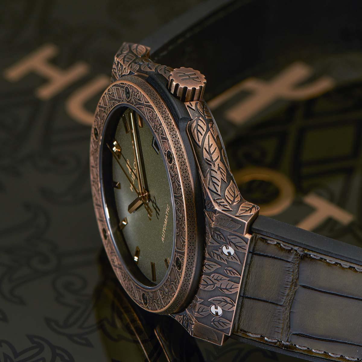 La Cote des Montres : Photo - Hublot Classic Fusion Fuente Limited Edition
