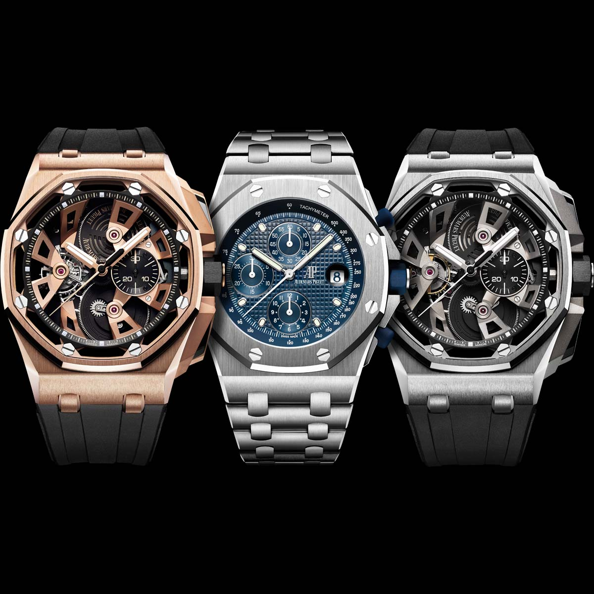 The Watch Quote: Photo - Audemars Piguet celebrates the 25th Anniversary of the Royal Oak Offshore