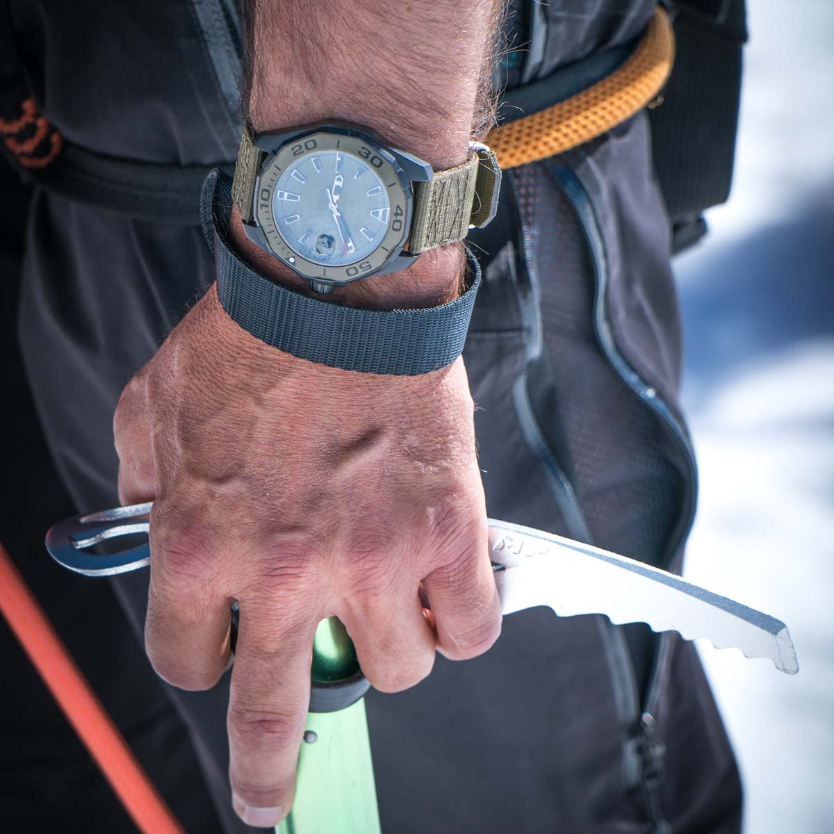The Watch Quote: Photo - TAG Heuer - Nuit de la Glisse: Don't Crack Under Pressure Season 3