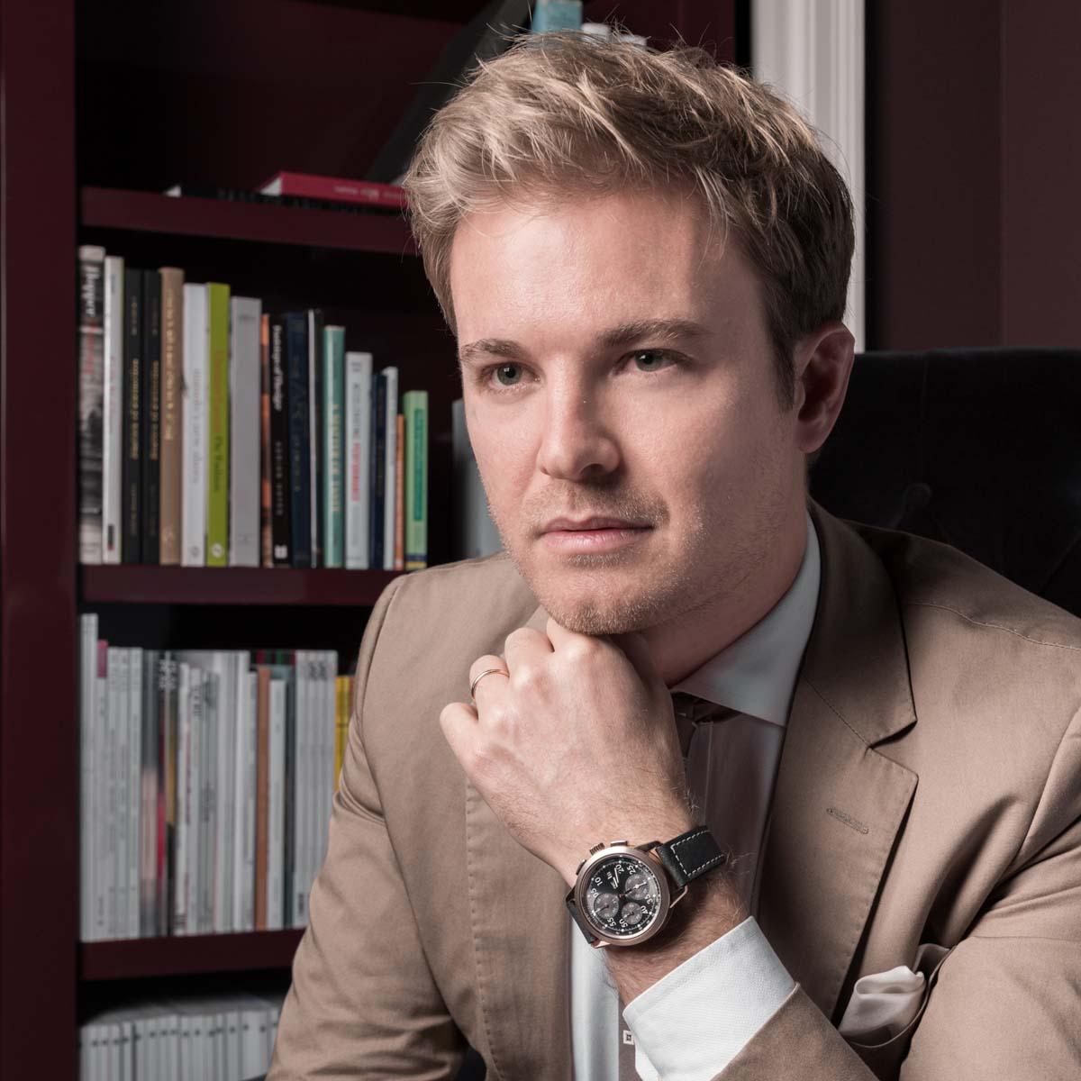 La Cote des Montres : Photo - IWC Ingenieur Chronographe « Tribute to Nico Rosberg »
