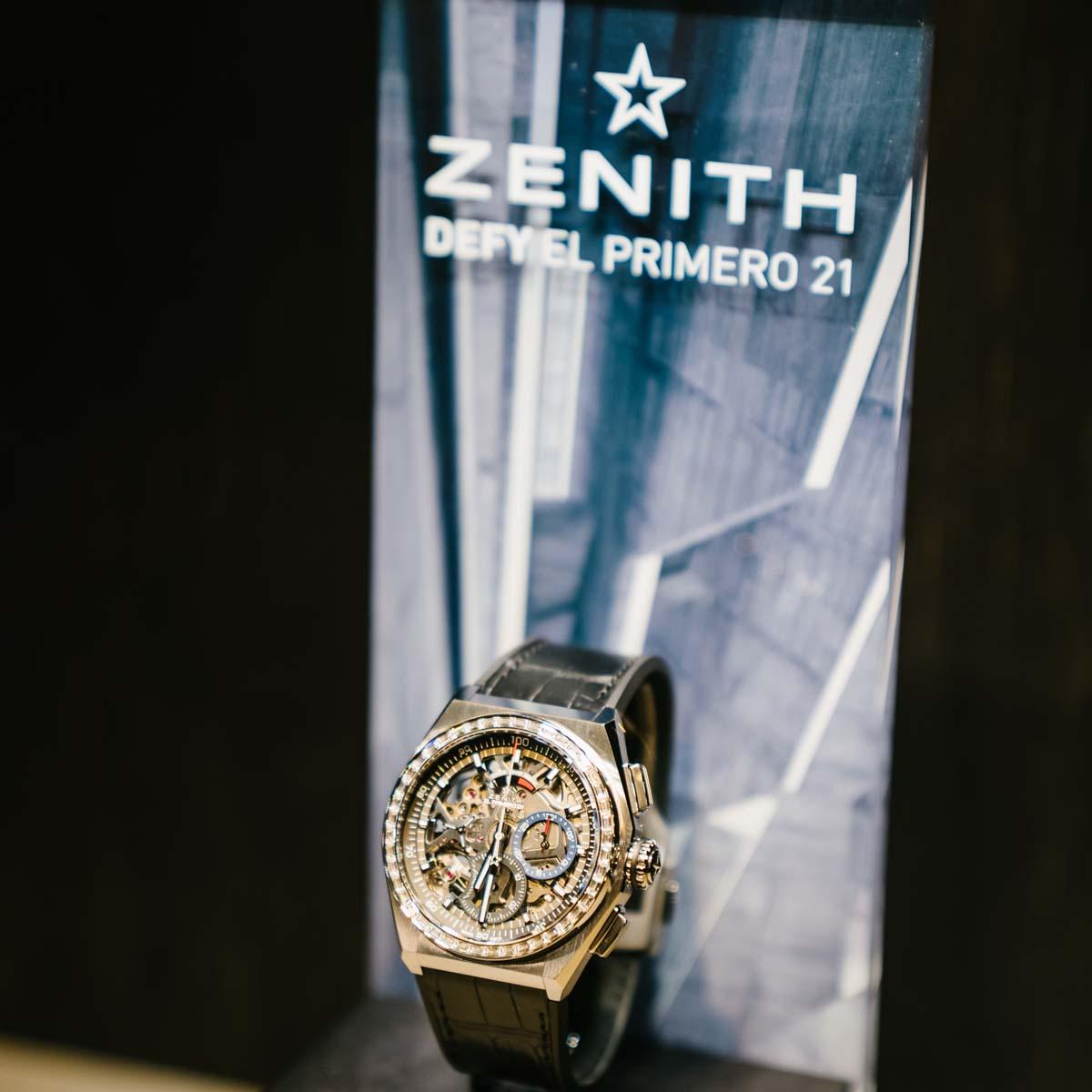 La Cote des Montres : Photo - Deux éditions spéciales pour l'ouverture du Pop-up Store Zenith