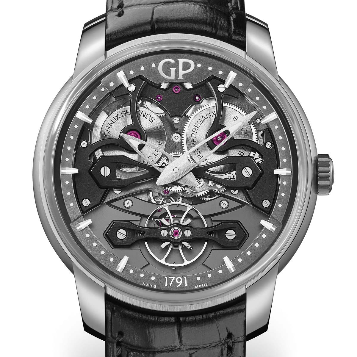 La Cote des Montres : Photo - La montre « Neo Bridges », de la Maison Girard-Perregaux, lauréate du « Bucherer Watch Award 2017 »