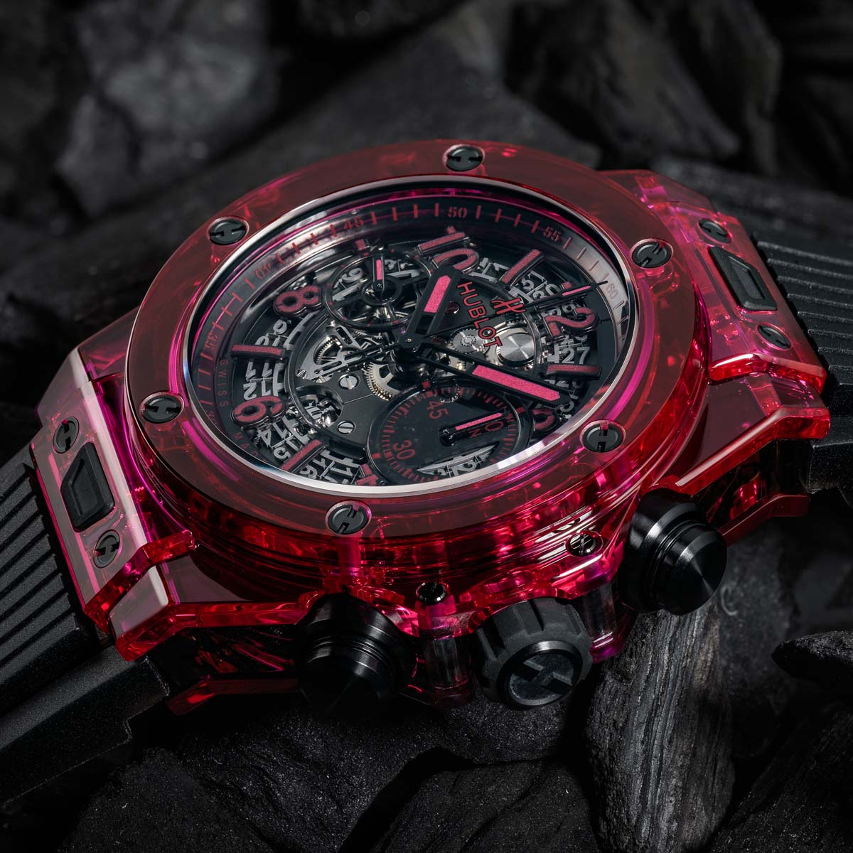 La Cote des Montres : Photo - Hublot Big Bang Unico Sapphire