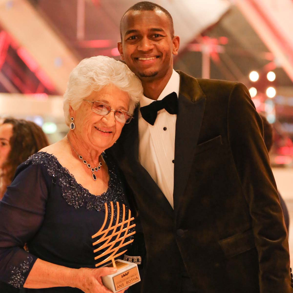 """The Watch Quote: Photo - Mutaz Essa Barshim, part of the Richard Mille family, named """"Male World Athlete of the Year�"""