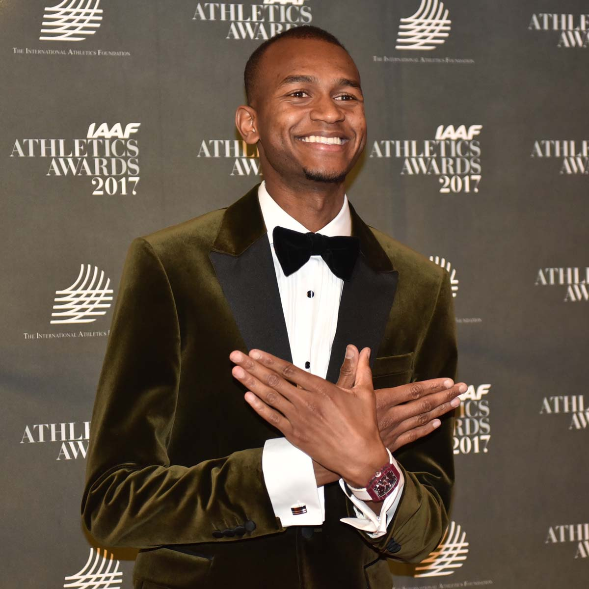 "The Watch Quote: Photo - Mutaz Essa Barshim, part of the Richard Mille family, named ""Male World Athlete of the Year�"