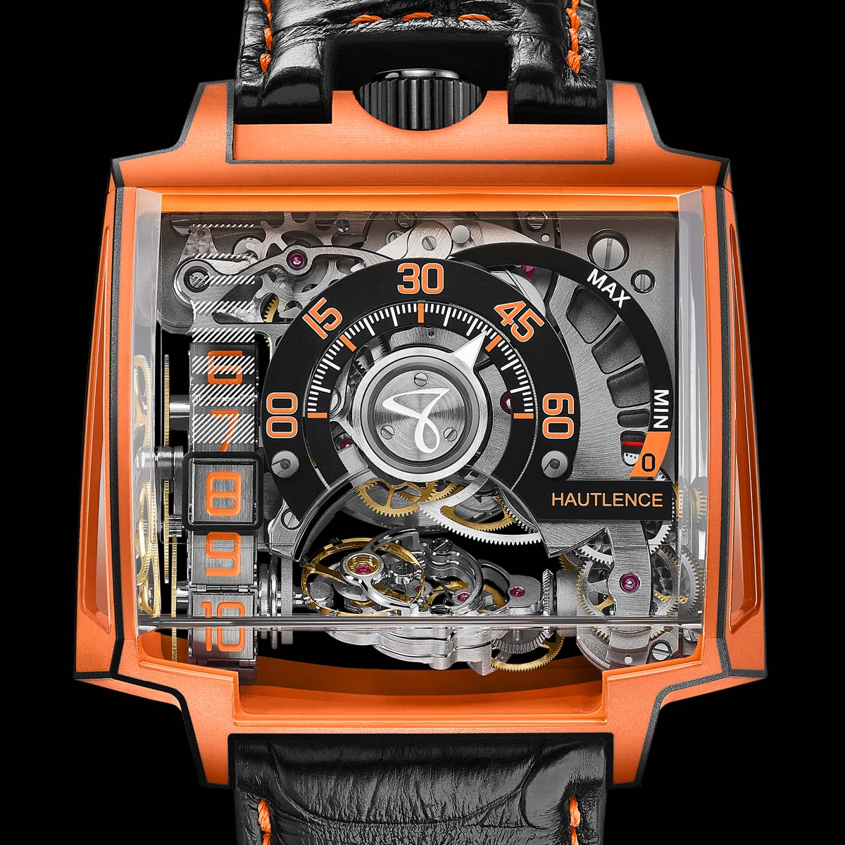 The Watch Quote: Photo - Hautlence Vortex Gamma Magma