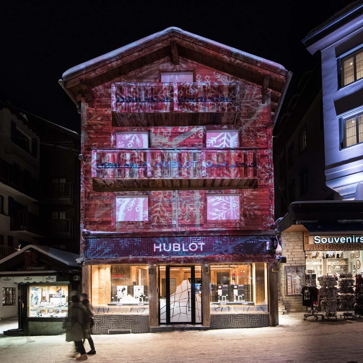 La Cote des Montres : Photo - Hublot vous donne rendez-vous pour un total look Hublot à Zermatt