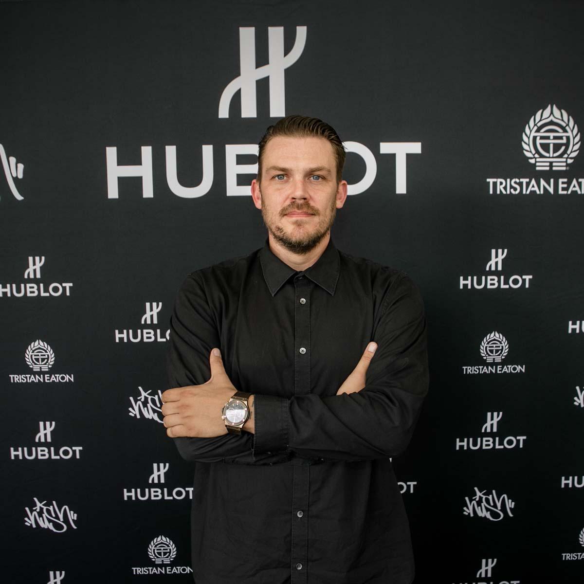 La Cote des Montres : Photo - Hublot s'associe aux artistes de rue Hush et Tristan Eaton Pour célébrer « Fame vs Fortune »