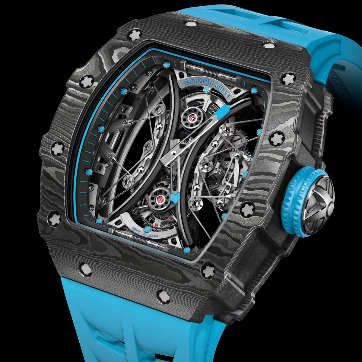 The Watch Quote: Photo - Richard Mille RM 53-01 Tourbillon Pablo Mac Donough