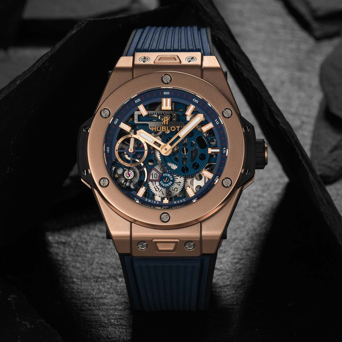 The Watch Quote: Photo - Hublot Big Bang Meca-10 Blue Ceramic