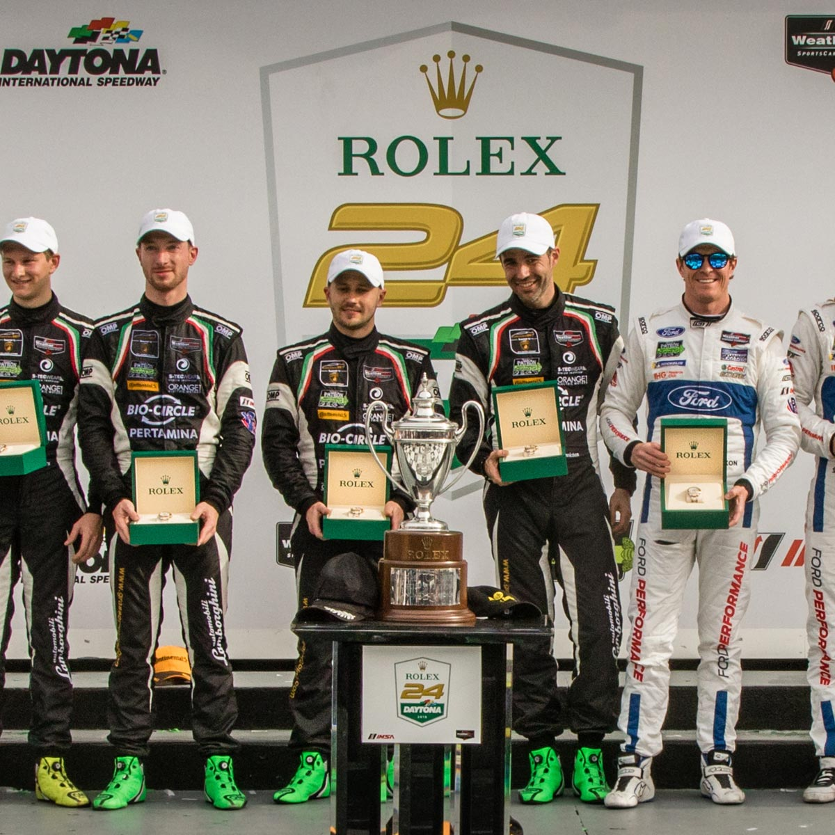 The Watch Quote: Photo - No. 5 Mustang Sampling Racing Cadillac DPI wins 2018 Rolex 24 at Daytona