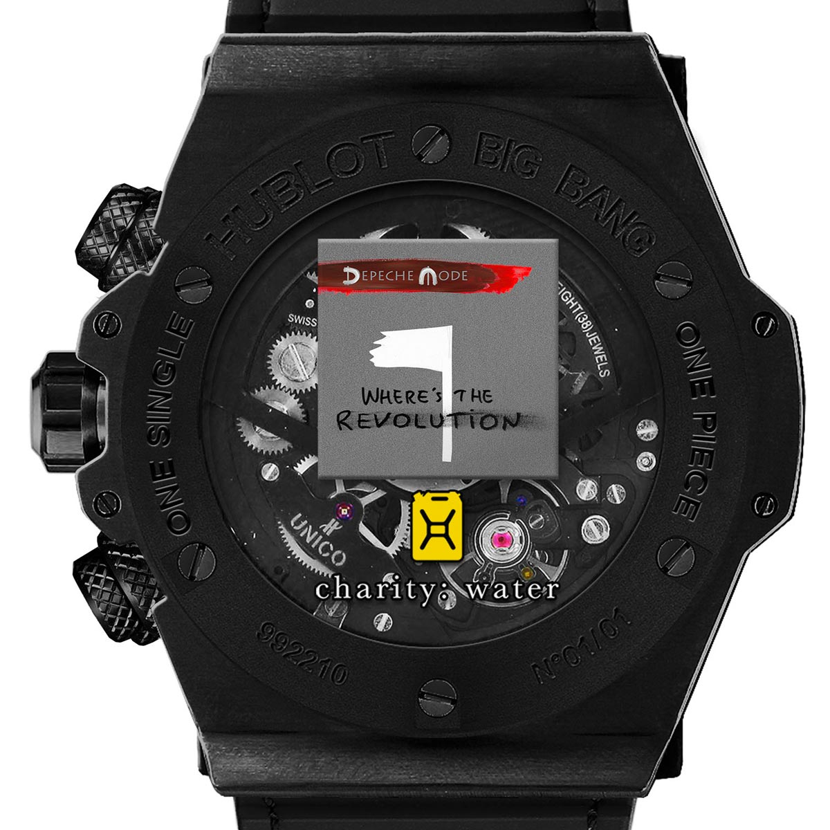 "The Watch Quote: Photo - Hublot Big Bang Depeche Mode ""The Singles� Limited Edition"