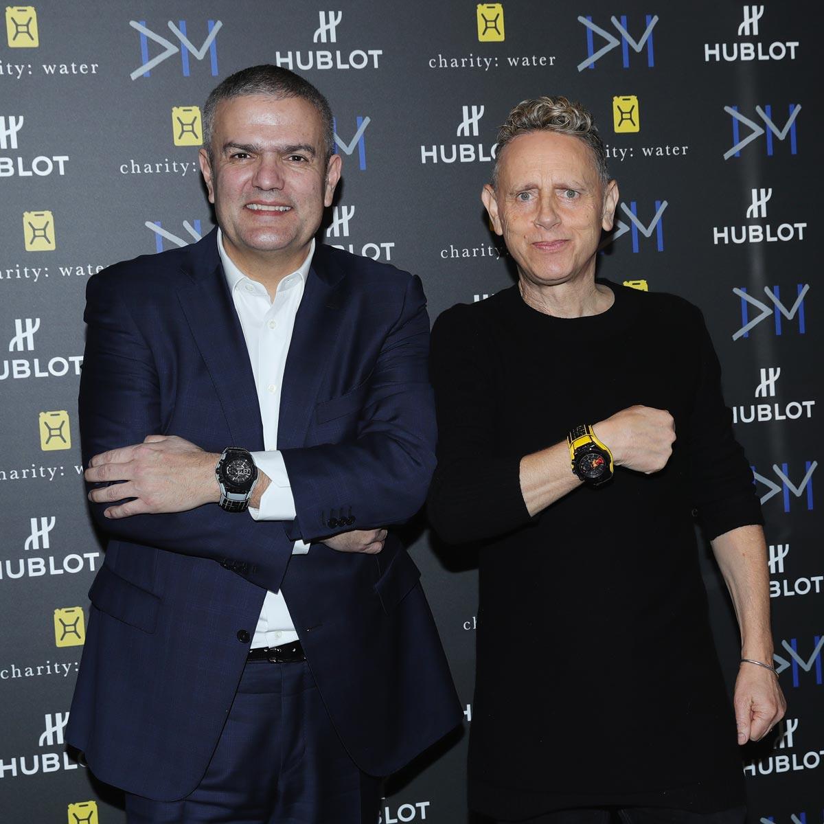 """La Cote des Montres : Photo - Hublot Big Bang Depeche Mode """"The Singles� Limited Edition"""