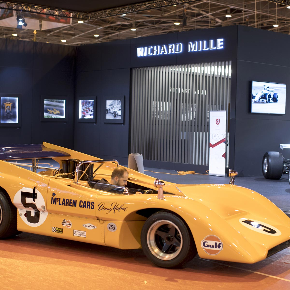 The Watch Quote: Photo - Rétromobile 2018: Richard Mille and McLaren's stunning exhibition