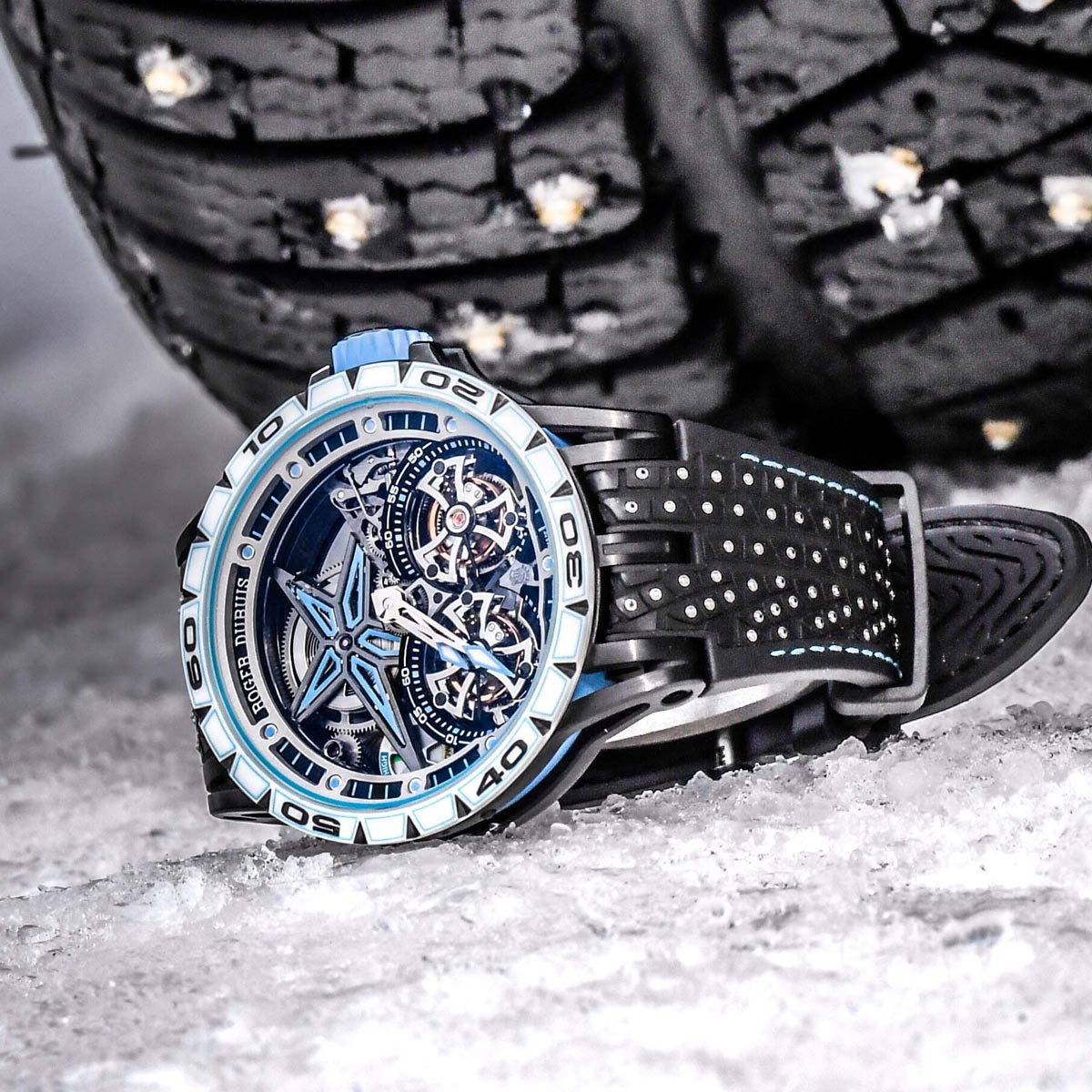 "The Watch Quote: Photo - Roger Dubuis Excalibur Spider Pirelli SOTTOZEROâ""¢"