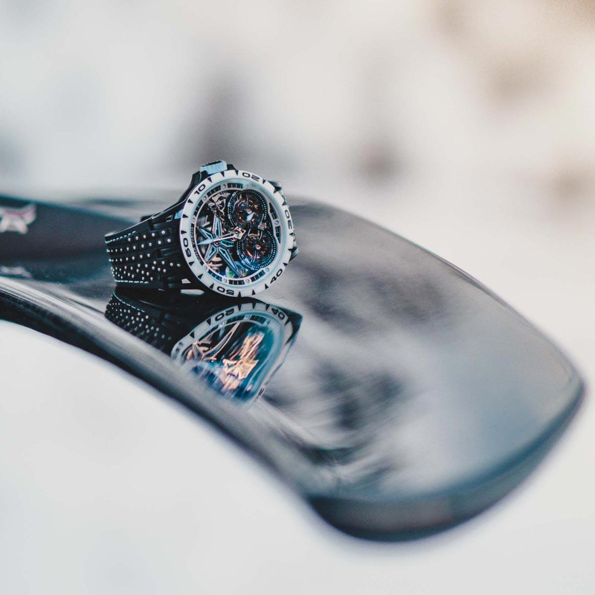 """La Cote des Montres : Photo - Roger Dubuis Excalibur Spider Pirelli SOTTOZEROâ""""¢"""