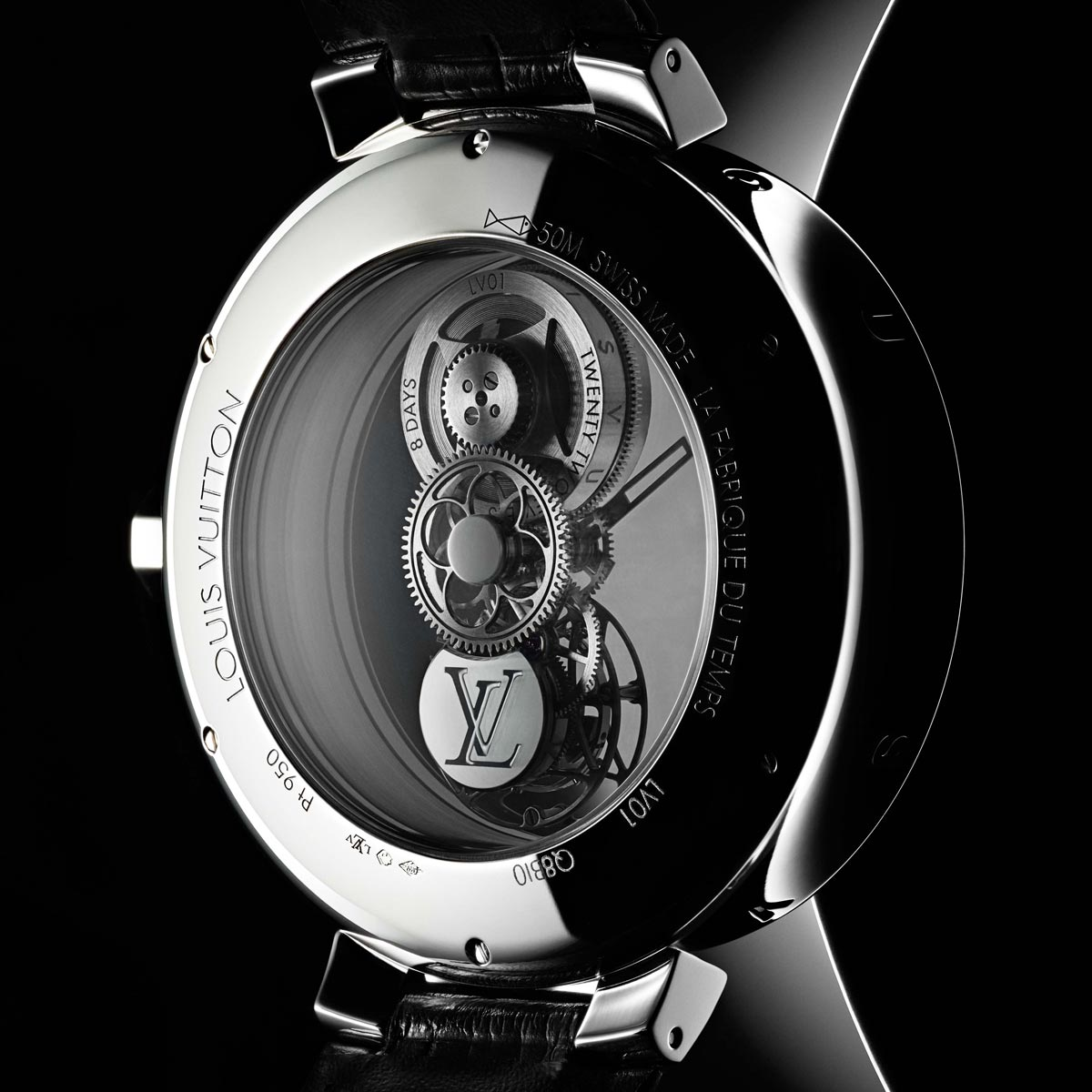 The Watch Quote: Photo - Louis Vuitton Tambour Moon Mystérieuse Flying Tourbillon