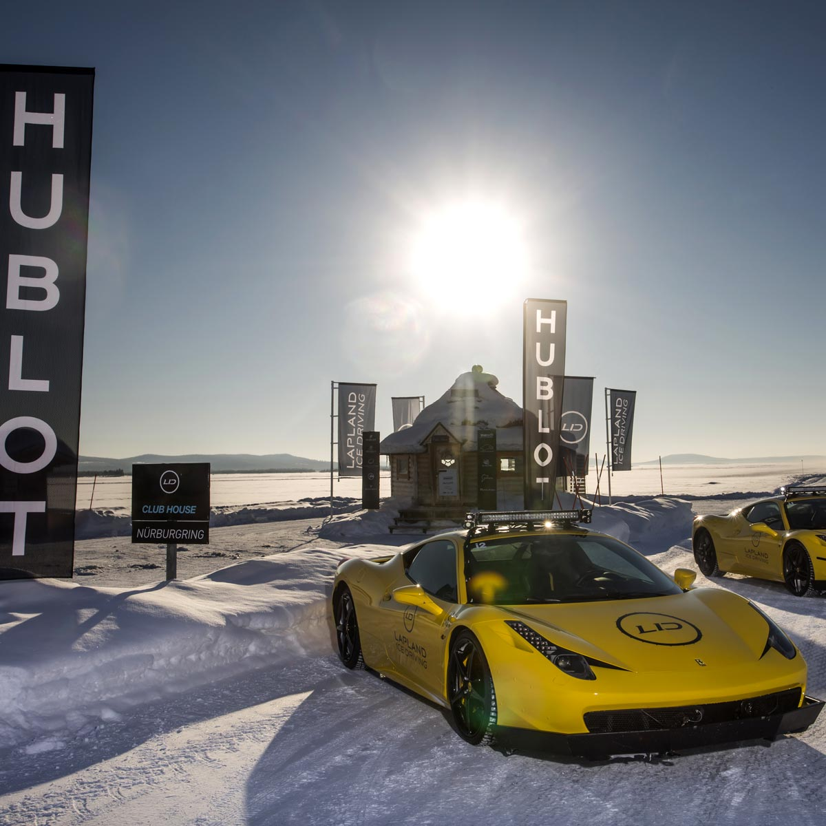 The Watch Quote: Photo - Hublot partners with Lapland Ice Driving