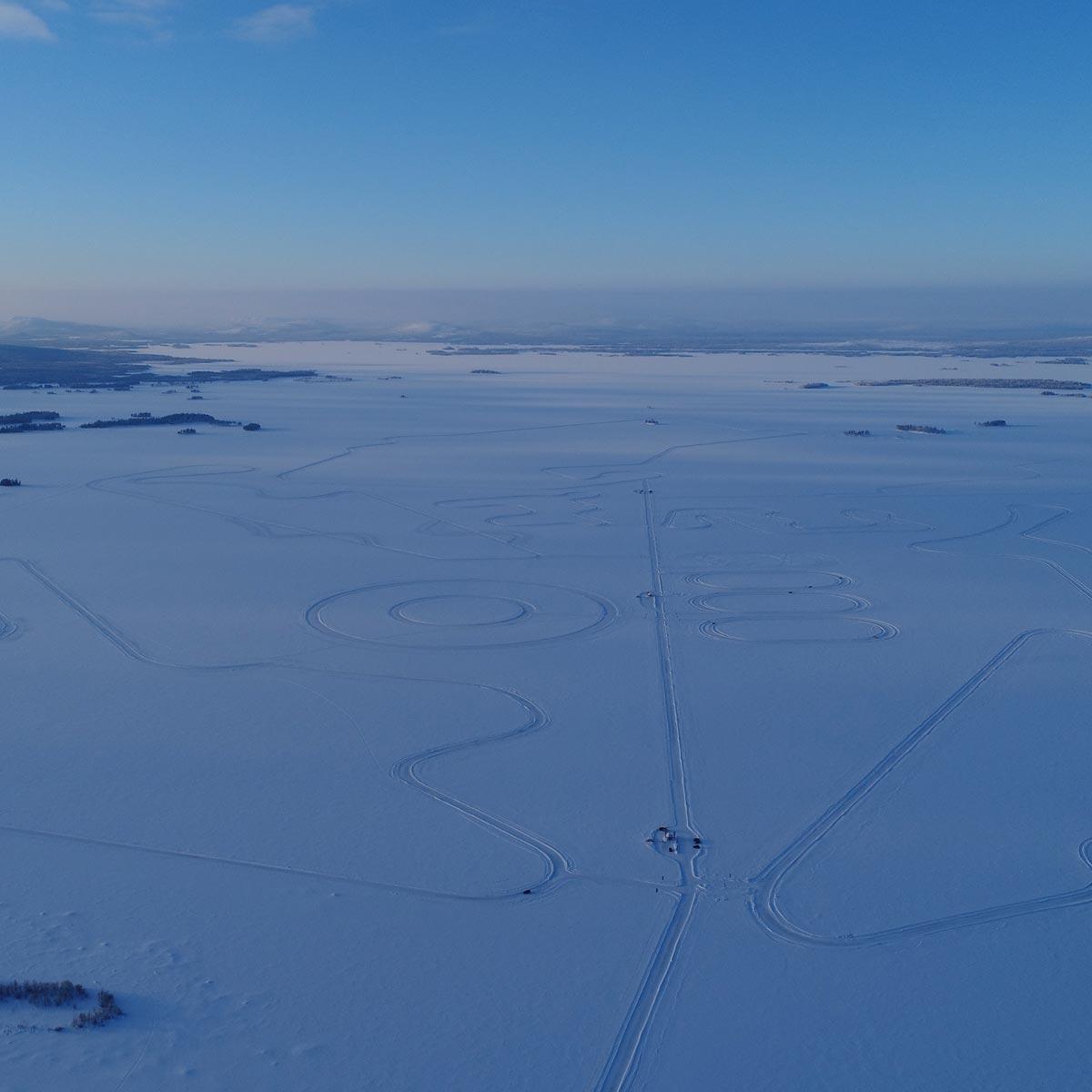 La Cote des Montres : Photo - Hublot devient partenaire de Lapland Ice Driving