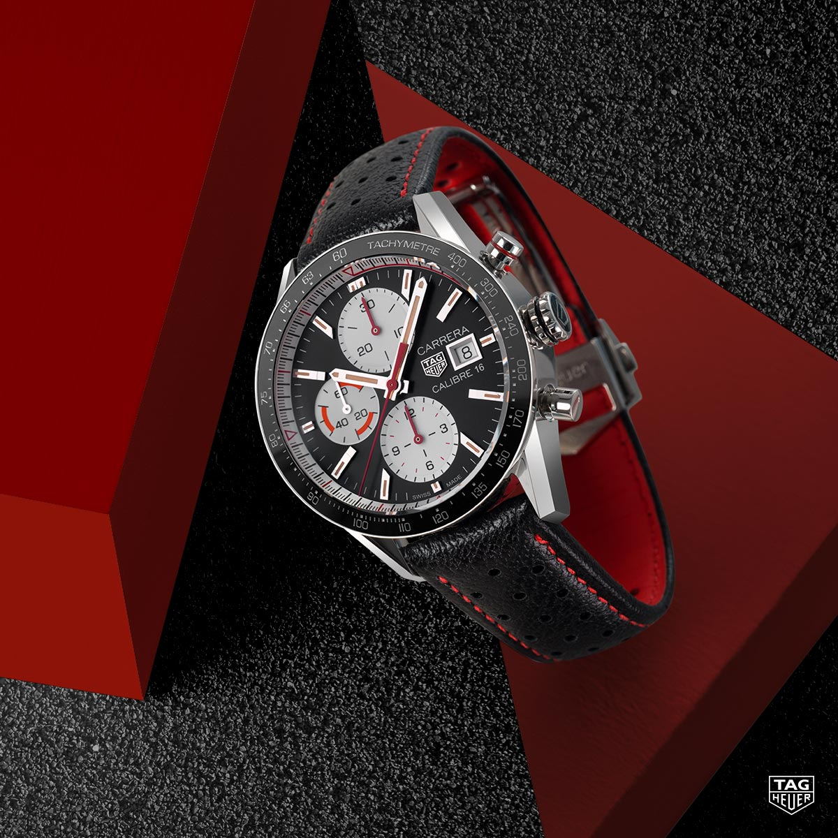 The Watch Quote: Photo - TAG Heuer Carrera Calibre 16 Chronograph