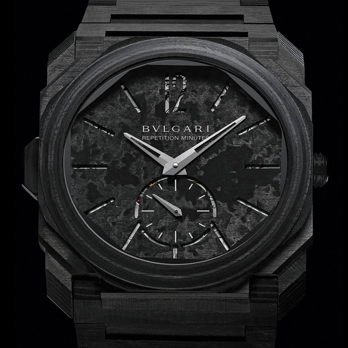 The Watch Quote: Photo - Bvlgari Octo Finissimo Minute Repeater Carbon