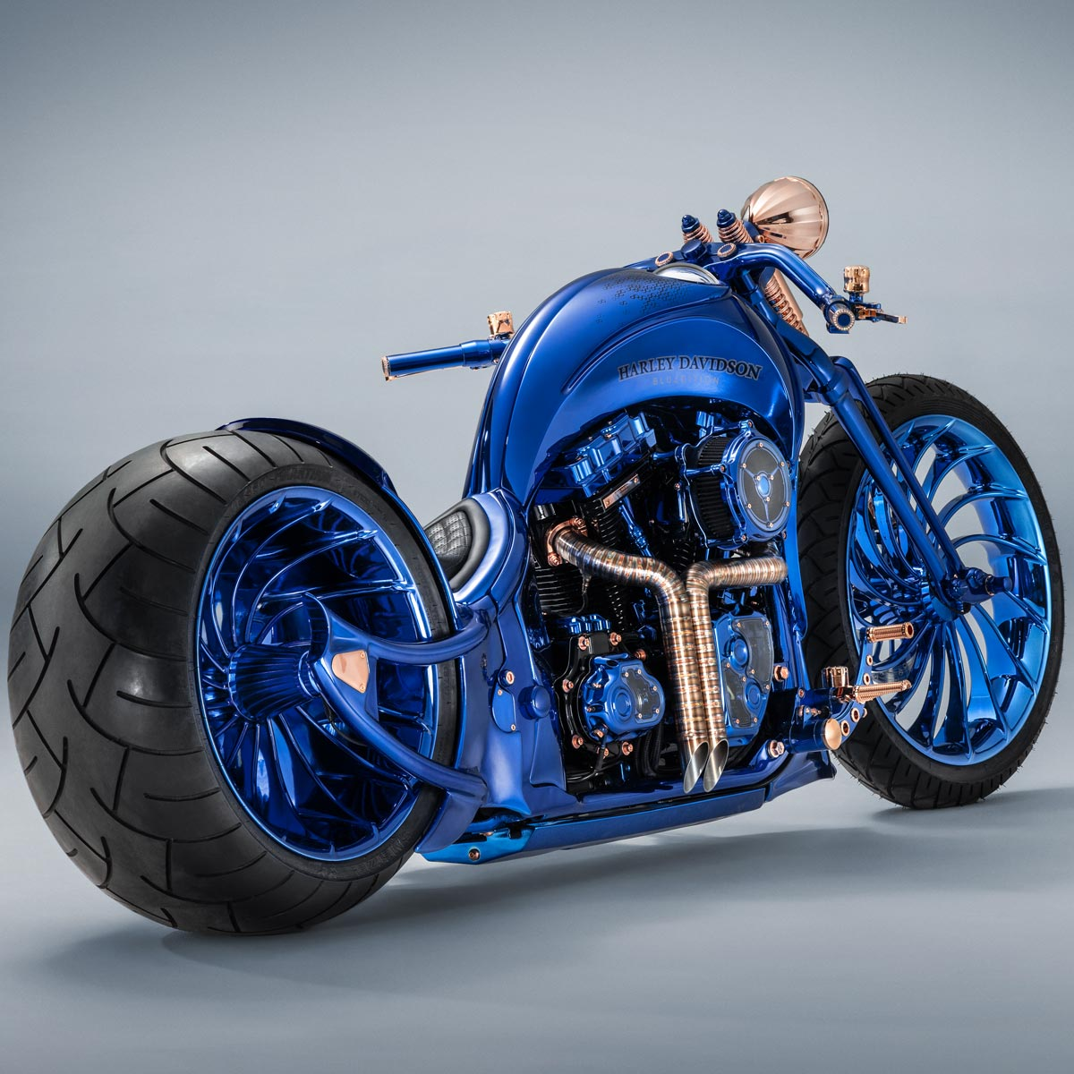 The Watch Quote: Photo - Bucherer Harley-Davidson Blue Edition