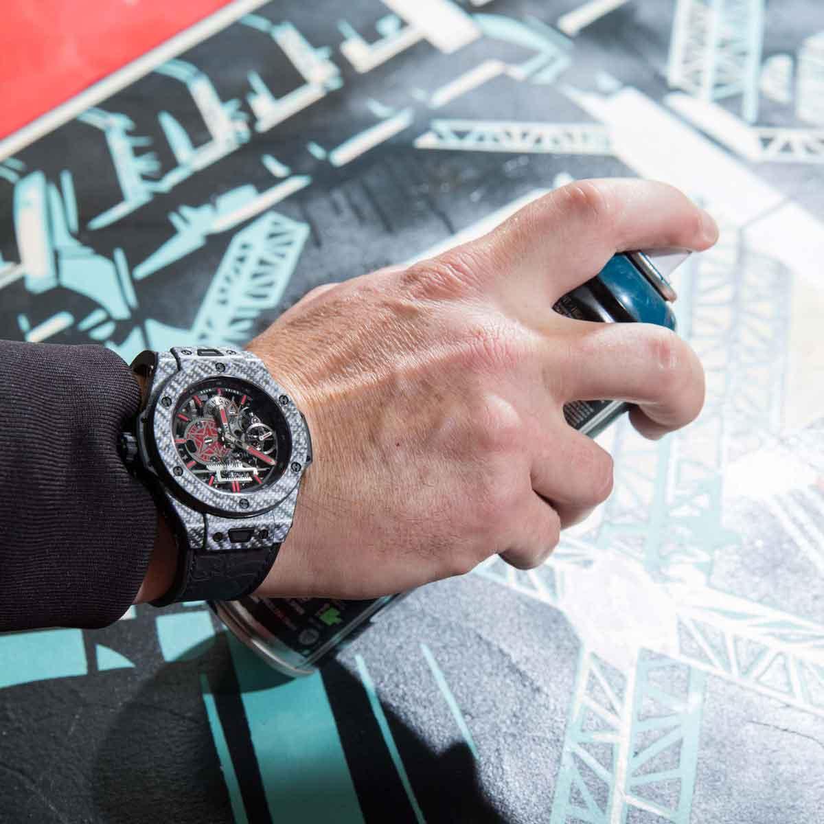 La Cote des Montres : Photo - Hublot Big Bang Meca-10 Shepard Fairey