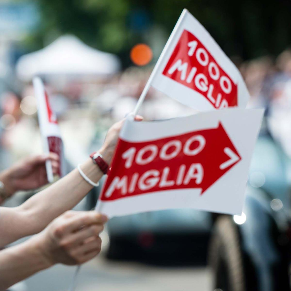 La Cote des Montres : Photo - Chopard célèbre 30 ans de son partenariat avec la course Mille Miglia