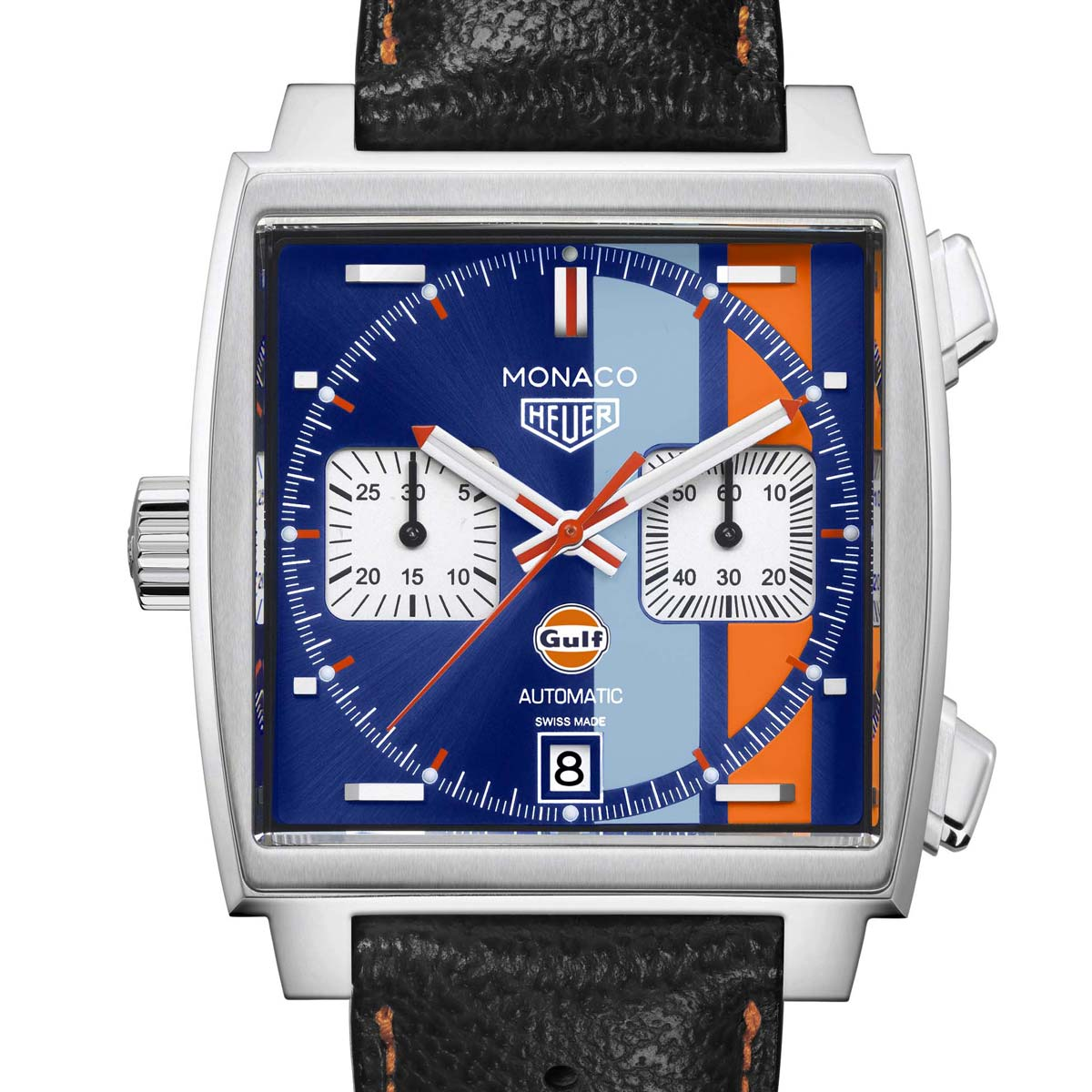 The Watch Quote: Photo - TAG Heuer Monaco Gulf 2018 Special Edition