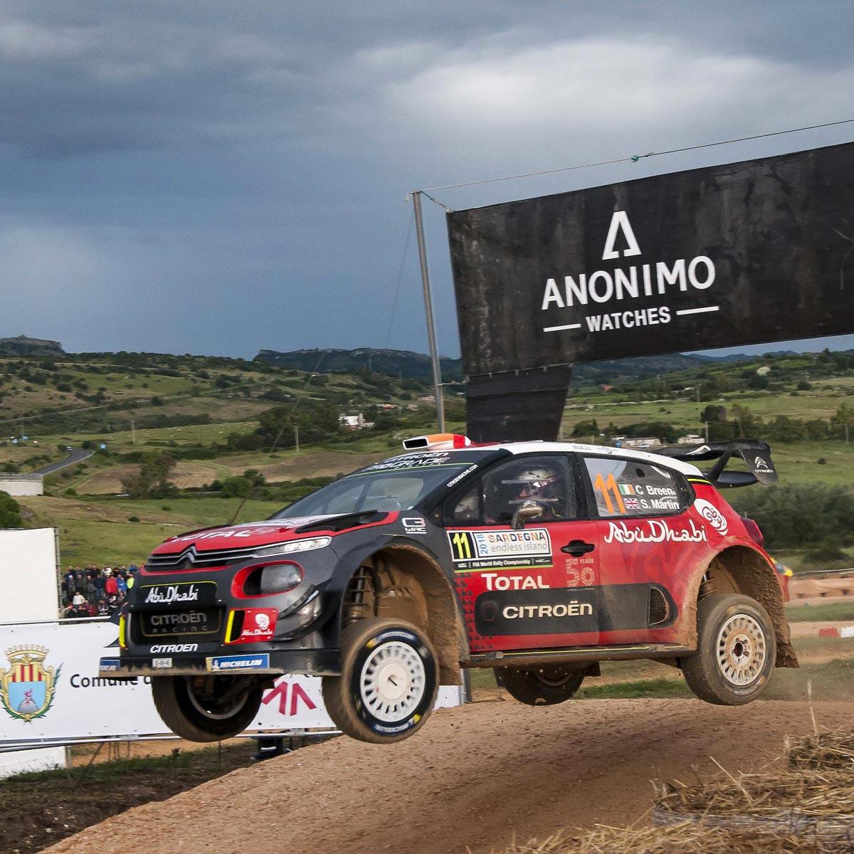 La Cote des Montres : Photo - ANONIMO présente l'édition spéciale WRC