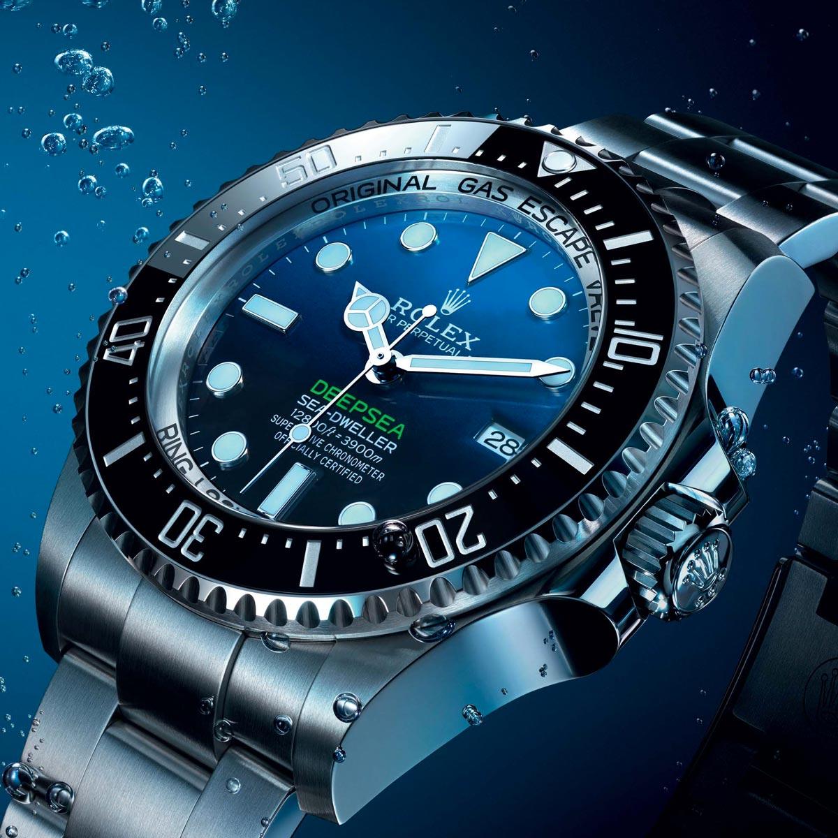 La Cote des Montres : Photo - La nouvelle Rolex Deepsea