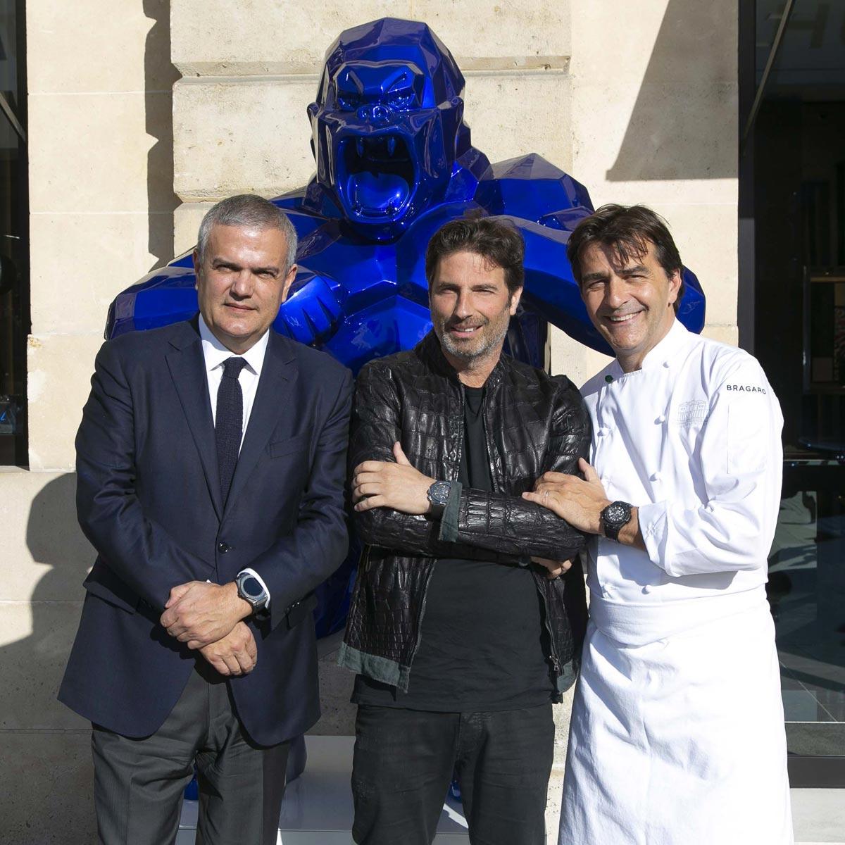 La Cote des Montres : Photo - Hublot marque de son empreinte la mythique Place Vendôme