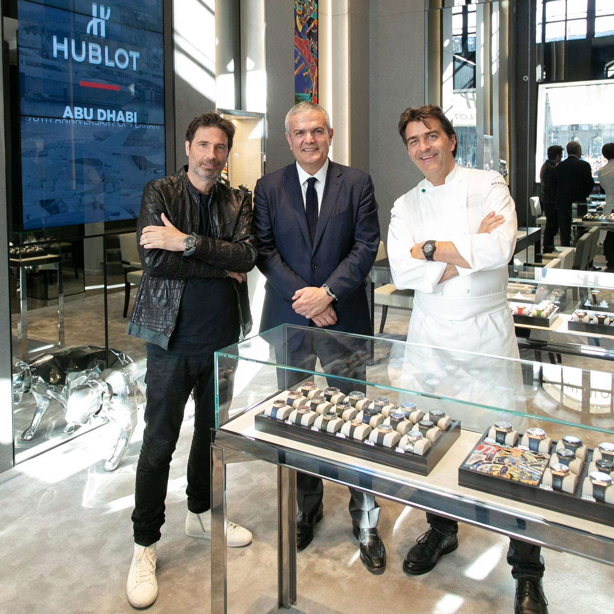 The Watch Quote: Photo - Hublot left its mark on the mythical Place Vendôme