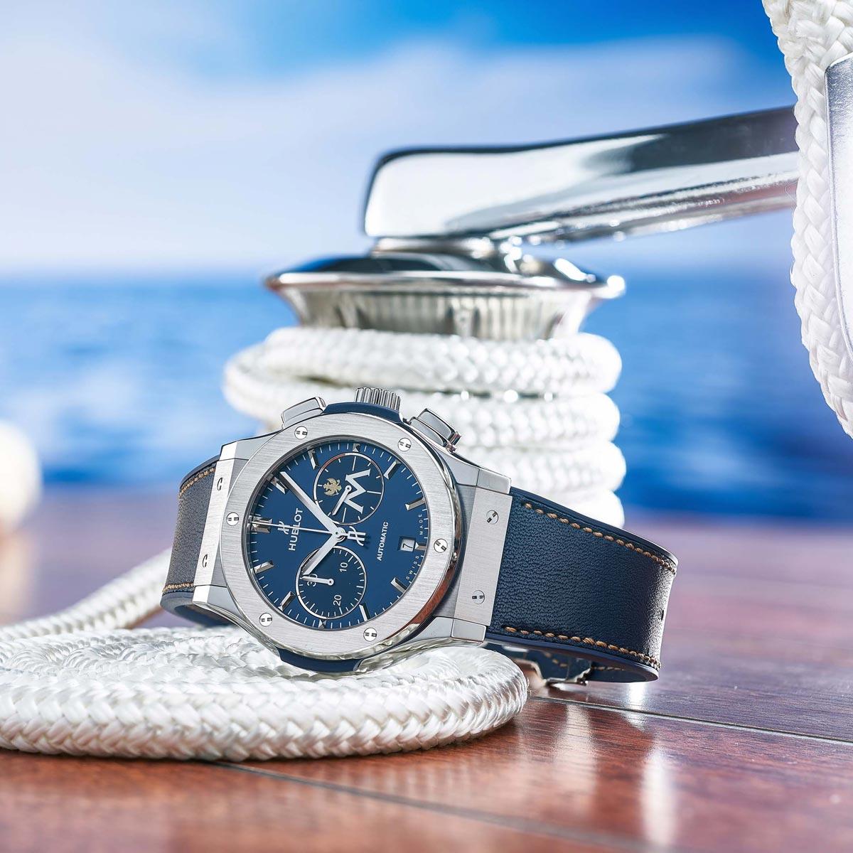 La Cote des Montres : Photo - Hublot devient le chronométreur officiel de Porto Montenegro Marina and Yacht Club