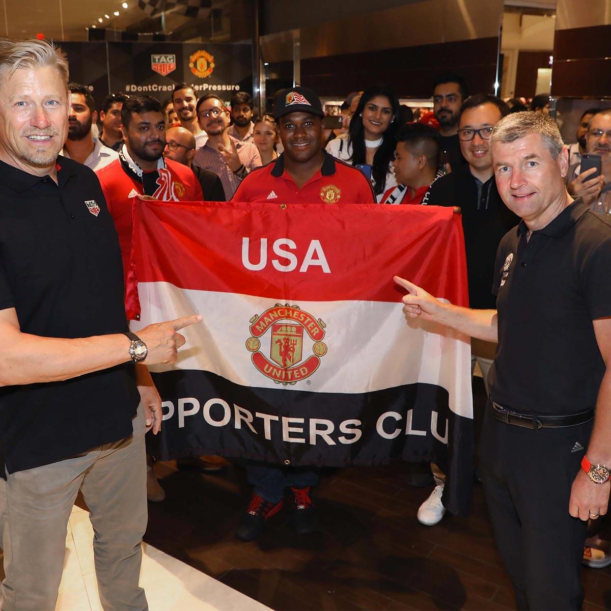La Cote des Montres : Photo - TAG Heuer présente les nouvelles éditions spéciales Manchester United