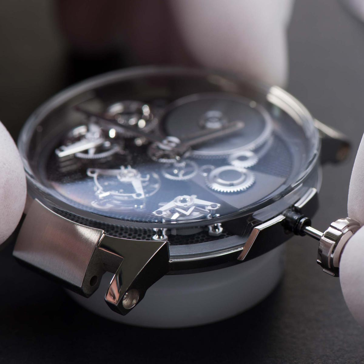 La Cote des Montres : Photo - Ulysse Nardin Executive Tourbillon Free Wheel