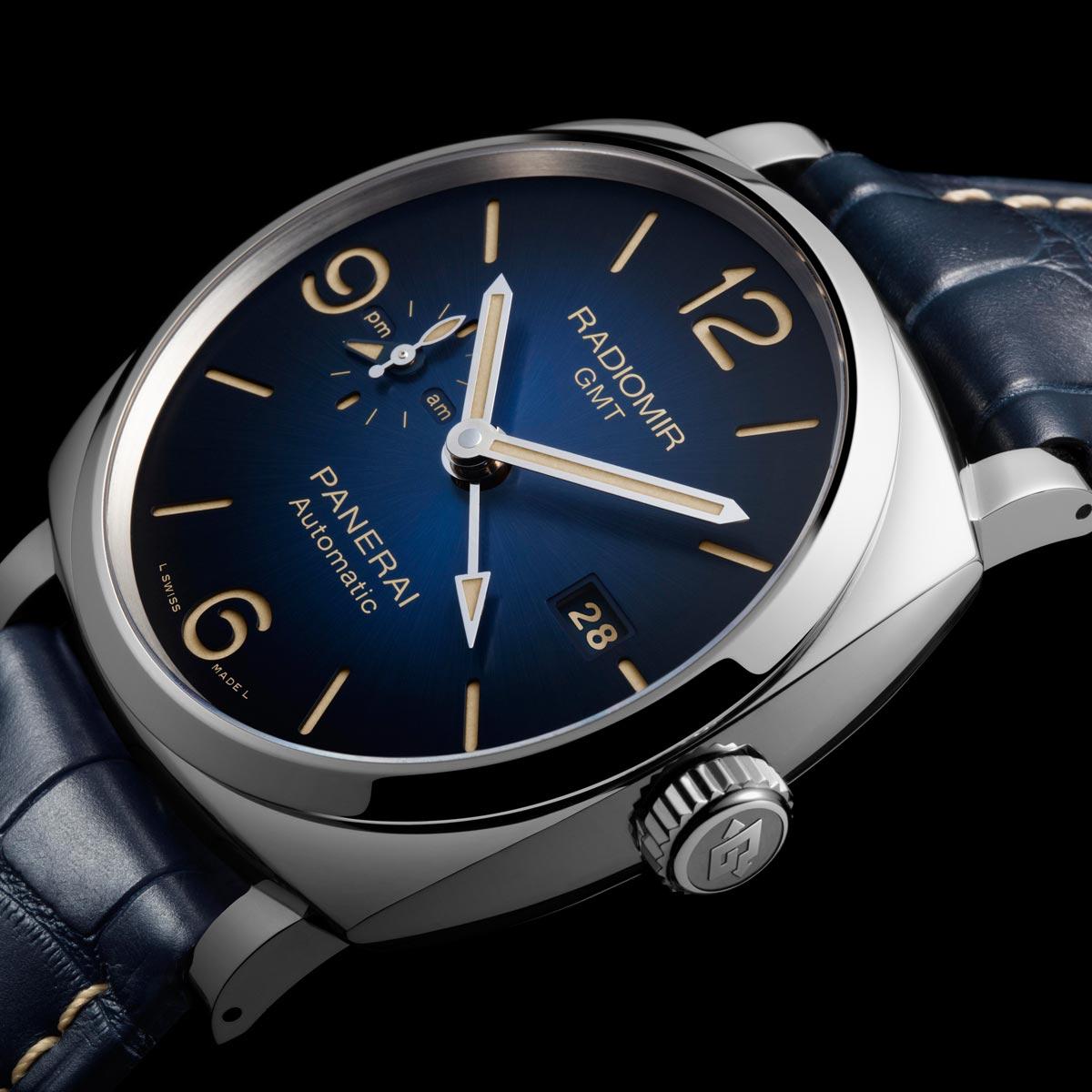 La Cote des Montres : Photo - Les nouvelles montres Panerai Radiomir 1940 3 Days Blue Dials